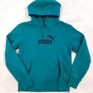 3/$25🎉 Teal Puma Hooded Sweatshirt